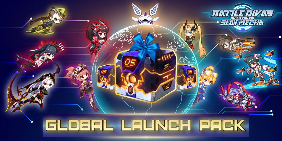 [QooApp Exclusives] Battle Divas: Slay Mecha Global Launch Pack!