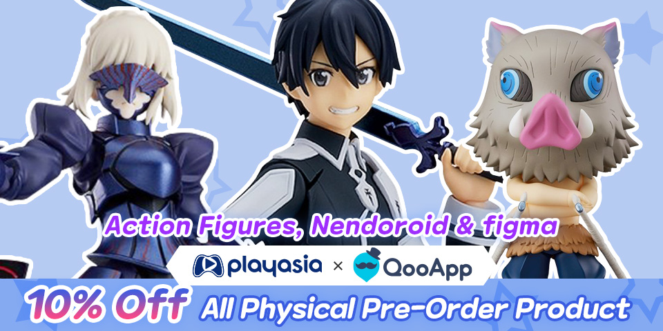 [Playasia x QooApp] One Figure, Multi-Poses! That's A Great Deal!