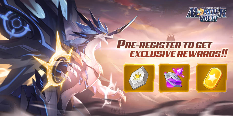 <Monster Quest: Seven Sins> Exclusive Gifts for QooApp Player!! Pre-Register Now!!