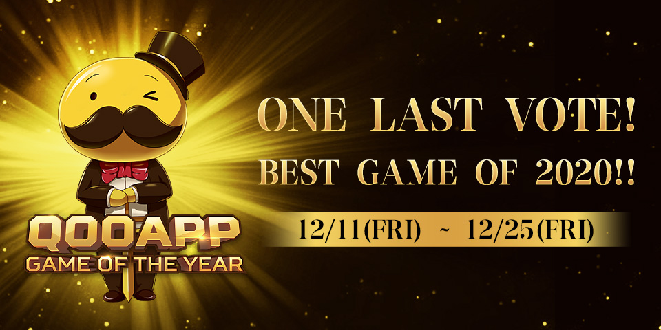 Pick the Winner of Your Choice! QooApp 2020 Game of the Year Voting Begins