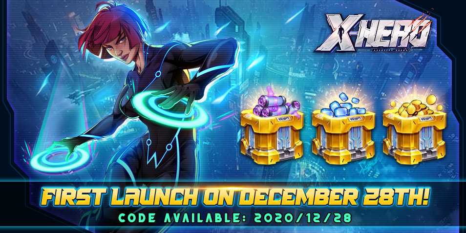 X-HERO: Idle Avengers Official Launch! Exclusive Gift For QooApp Commanders!