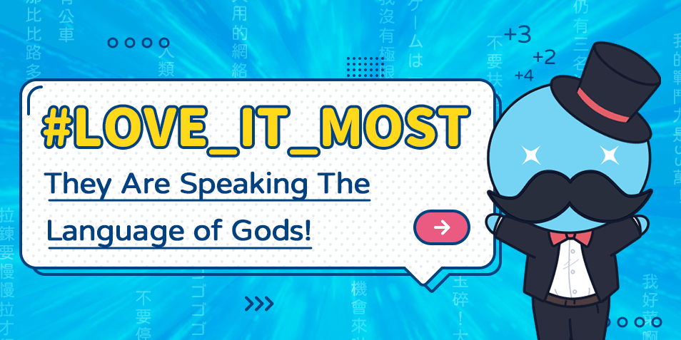 #LOVE_IT_MOST! They Are Speaking The Language of Gods!